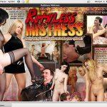 Free Ruthless Mistress Logins