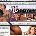 TS Pantyhose Porn Free