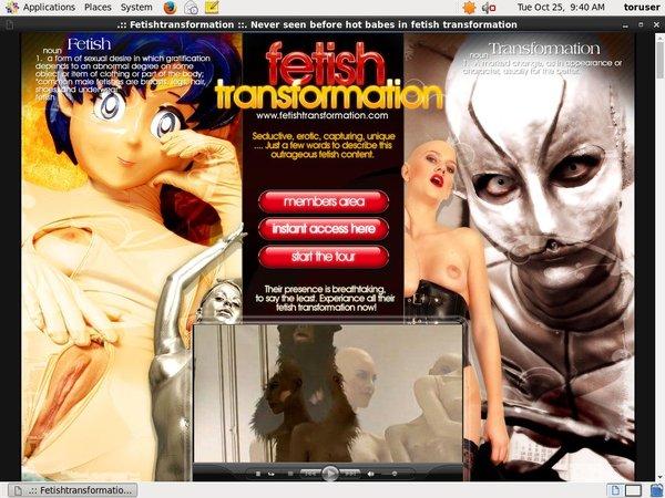 Fetishtransformation Rubber