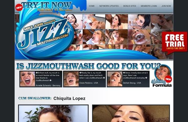 Jizz Mouth Wash Discount Membership