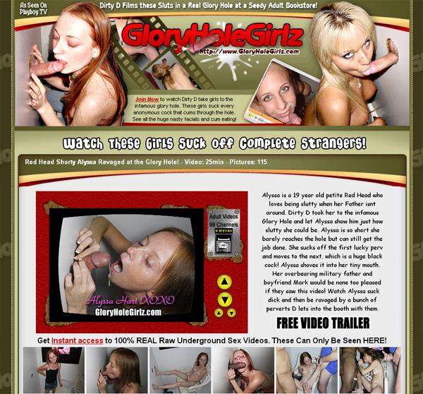 Glory Hole Girlz Free Code